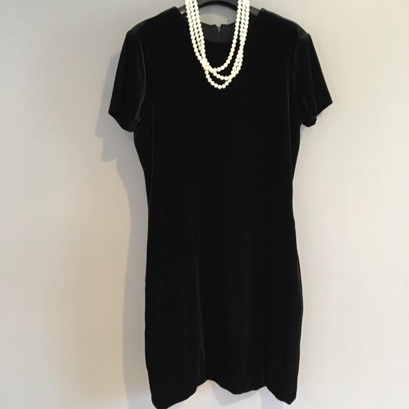 Rex Lester Dresses The Best Little Black Velvet Dress Ever Poshmark